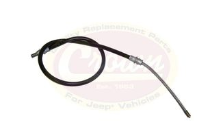 Rear Brake Cable (Left Rear), XJ (52128073 / JM-00818 / Crown Automotive)