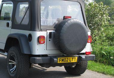 """Tire Cover, Black (30""""-32"""") (TC303201 / JM-00627 / RT Off-Road)"""
