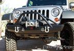 Front Recovery Bumper, Brawler MID (PSC17-63-010-DBT / JM-04458 / Poison Spyder Customs)