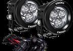 "Pillar Light Kit (With 3.7"" CG2 Mini Cannon), JL, JT (XIL-OEA18JLCPM310 / JM-05322 / Vision X lighting)"