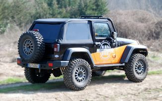 Suntop Ultimate, JK 2 Door (JKSTBK2 / JM-01628 / RT Off-Road)
