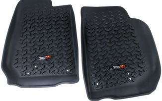 Front Floor Liners - JK 07-18 (12920.03 / JM-01251 / Rugged Ridge)
