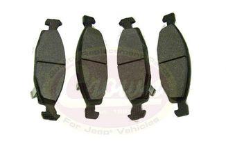 Front Disc Brake Pad Set, WJ Teves (5018592AA / JM-00132 / Crown Automotive)