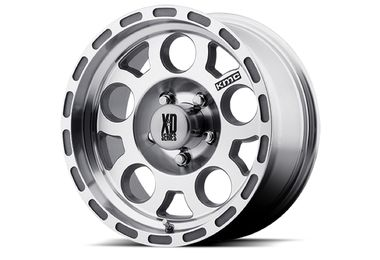 Enduro XD122, Machined ,17x9 (XD12279050506N / JM-03009 / XD Series)