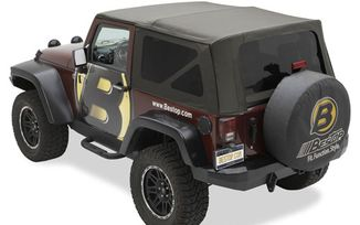 Replace-A-Top Soft Top, Black Twill, JK 2 Door (10-17) (79846-17 / JM-03362 / Bestop)