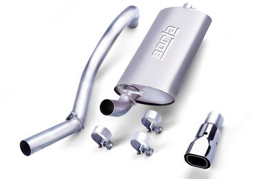 Cat-Back Stainless Exhaust, 97-99 TJ (14728 / JM-02928 / Borla Exhaust)