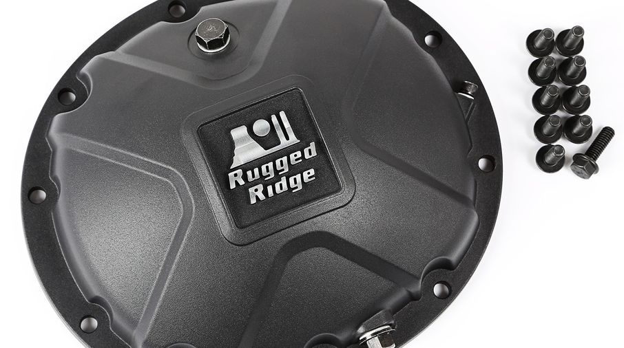 Dana 35 High Strength Alloy Diff Cover (16595.14 / JM-03041 / Rugged Ridge)