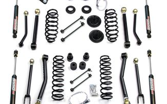 "4"" Lift Kit w/ FlexArms & 9550 Shocks, JK 4 Door (1451460 / JM-04195 / TeraFlex)"