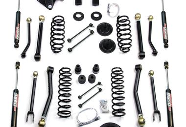 "4"" Lift Kit w/ FlexArms & 9550 Shocks, JK 2 Door (1451462 / JM-04196 / TeraFlex)"