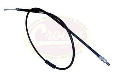 Brake Cable (Right Rear), XJ (52128072AD / JM-00849 / Crown Automotive)