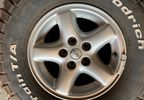 "USED - 5 x 15"" Alloy Wheels with 31x10.5 BFGoodrich Tyres (JMU-00049 / Jeepey Used Parts)"