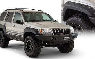 Cut-Out Extended Fender Flares, WJ (10926.07 / JM-02329 / Bushwacker)