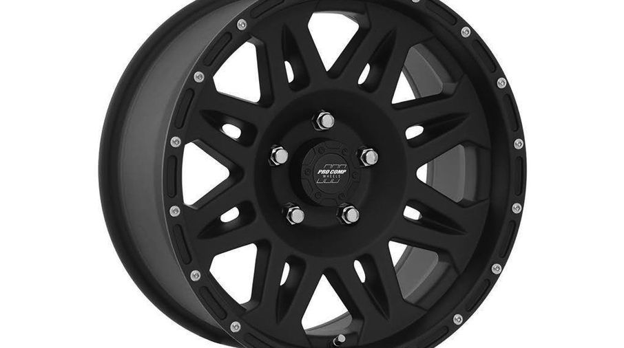 Series 7005 Alloy Wheel, 17X9, Black (PXA7005-7965 / JM-05771 / Pro Comp)