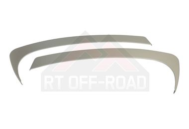 Center Dash Accents (Brushed Silver) (JKS6341 / JM-01535 / RT Off-Road)