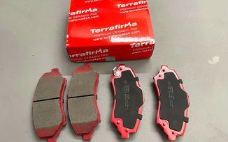 Brake Pad Set (Rear), Ceramic, JK, KK (UD1274TF/ 68003776AA / JM-05743 / Terrafirma)