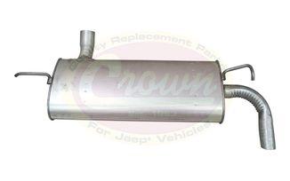 Muffler & Tailpipe (52059937AI / JM-01816 / Crown Automotive)