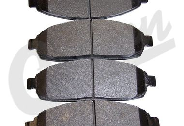 Disc Brake Pad Set (Front) WK & XK (5080868AA / JM-00440 / Crown Automotive)
