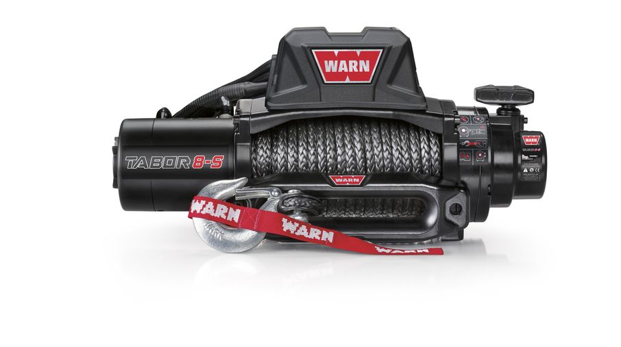 WARN Tabor 8K Winch With Synthetic Rope (97000 / JM-04213 / Warn)