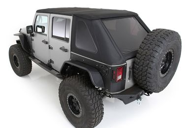 Bowless Combo Top Kit with Tinted Windows (Black Diamond), JK (S/B9083135K / JM-05785 / Smittybilt)