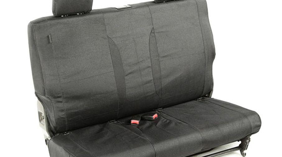 Elite Ballistic Seat Cover (Rear, Black) JK 11-18 (13266.03 / JM-01199 / Rugged Ridge)