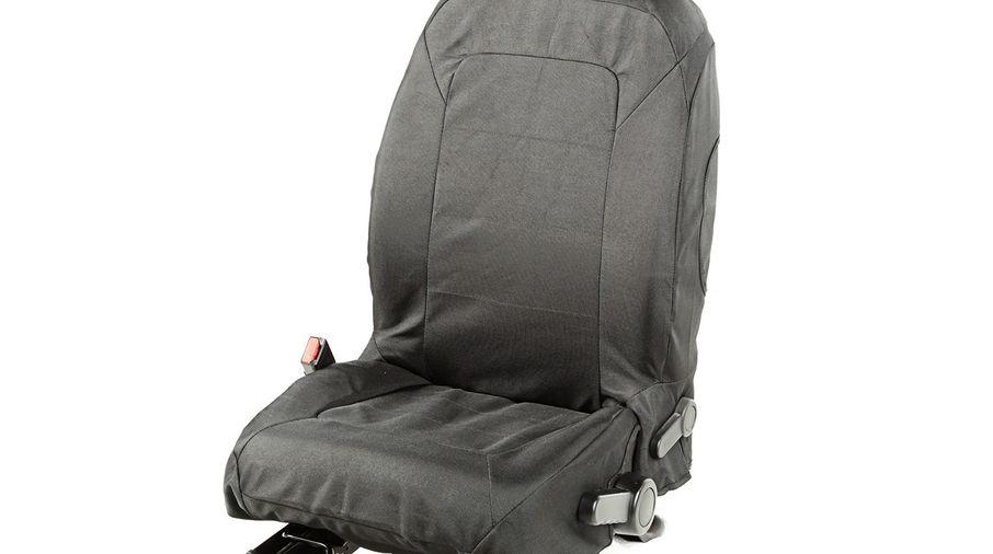 Elite Ballistic Seat Cover Set, Front, Black; 11-17 (13216.02 / JM-04106 / Rugged Ridge)