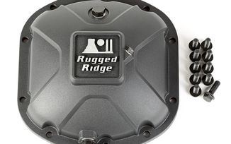 Dana 30 High Strength Alloy Diff Cover (16595.13 / JM-02854 / Rugged Ridge)