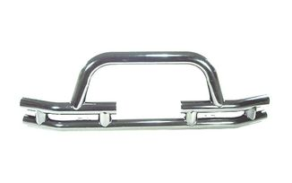 Front Recovery Bumper, Tube Stainless Steel for Winch, (11563.03 / JM-02266 / Rugged Ridge)