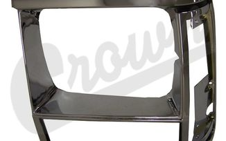 Headlight Bezel (Black/Chrome-Left) (55034079 / JM-03387 / Crown Automotive)