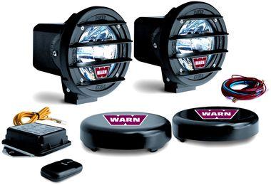 "4"" HID Driving Lights x 2 , Warn (82400 / JM-02562 / Warn)"