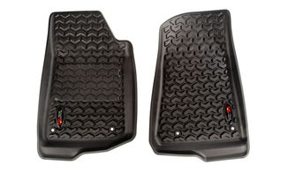 All Terrain Floor Liner, Front Pair, JL (12920.36 / JM-03919 / Rugged Ridge)