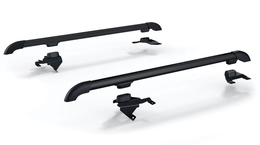 Nebo Roof Rack Main Rail Kit - Black, JK 4 Door (4722010 / JM-04668/LS / TeraFlex)