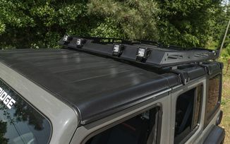 Roof Rack, with Basket, JL (11703.04 / JM-04797 / Rugged Ridge)