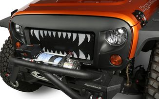 Grille Insert - Land Shark (12034.24 / JM-02716 / Rugged Ridge)