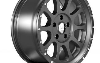 1450 Series Wheel, Gunmetal 18x8.5 (ET32), JL (1450.13 / JM-04546 / DuraTrail)