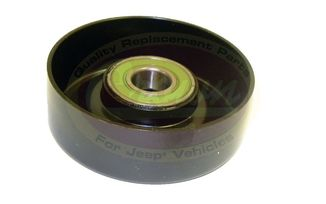 "Idler Pulley 3.55"" (2.5 & 4.0L) (53002905 / JM-00294 / Crown Automotive)"