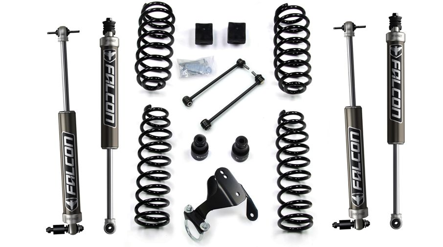 "2.5"" Lift Kit w/ Falcon 2.1 Shocks, JK 4 Door (1351060/2.1 / JM-04256 / TeraFlex)"