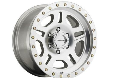 La Paz Series 29 Alloy Wheel, 16X8 Silver (3029-6865 / JM-02520 / Pro Comp)