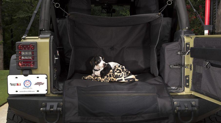 C4 Canine Cube; 07-18 Jeep Wrangler JK (13260.20 / JM-03453 / Rugged Ridge)