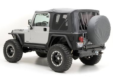 Black Replacement Soft Top with Tinted Windows, TJ (S/B9971235 / JM-05880 / Smittybilt)