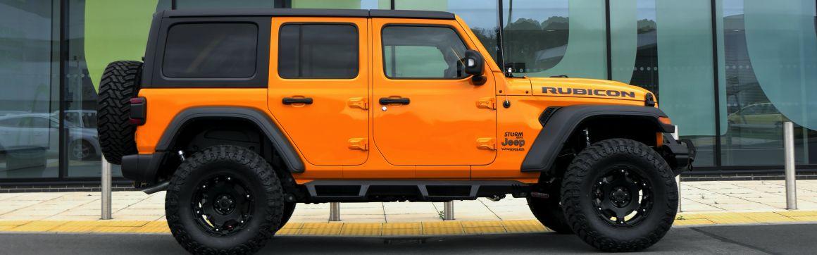 Latest Storm Jeep JL For Sale