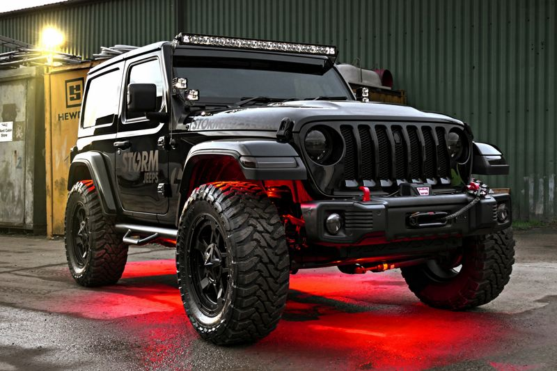 Custom Jeep Wrangler >> Storm Jeeps A New Concept In Custom Jeep Builds