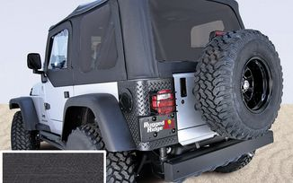 Replacement Soft Top, TJ, Black Denim (Tinted Windows) (13726.15 / JM-02765 / Rugged Ridge)