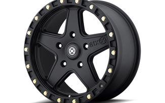 AX194 Ravine, 17x8.5 (ET10), Black (AX19478550610 / JM-03144 / ATX Series)