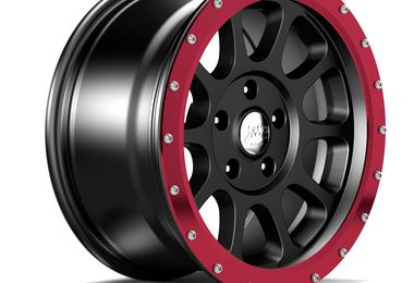 "17"" WR10 Red Anodized Wheel Ring (1458.23 / JM-05204 / DuraTrail)"