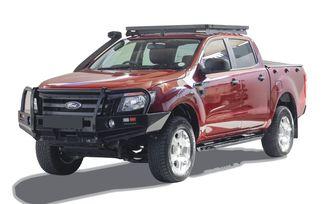 Ford Ranger T6 (2012-Current) Low Profile Slimline II Roof Rack Kit (KRFM011T / SC-00109 / Front Runner)