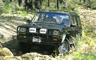 Front Recovery Bumper, ARB Bull Bar, XJ (84-96) (3450010 / JM-02088 / ARB)