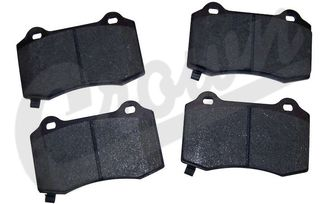 Brake Pad Set (Rear), SRT8 (68034993AA / JM-04011 / Crown Automotive)