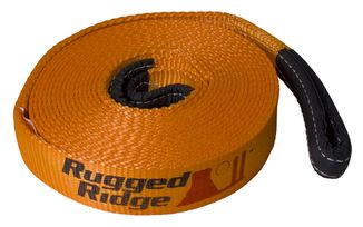 Recovery Strap, 2-inch x 30 feet, 20,000lbs (15104.02 / JM-02419 / Rugged Ridge)