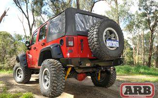 Rear Bumper with Tyre Carrier Option, ARB (5650360 / JM-02594 / ARB)