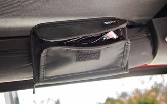 Roll Bar Sunglass & Storage Holder - Black (12101.52 / JM-02784 / Rugged Ridge)